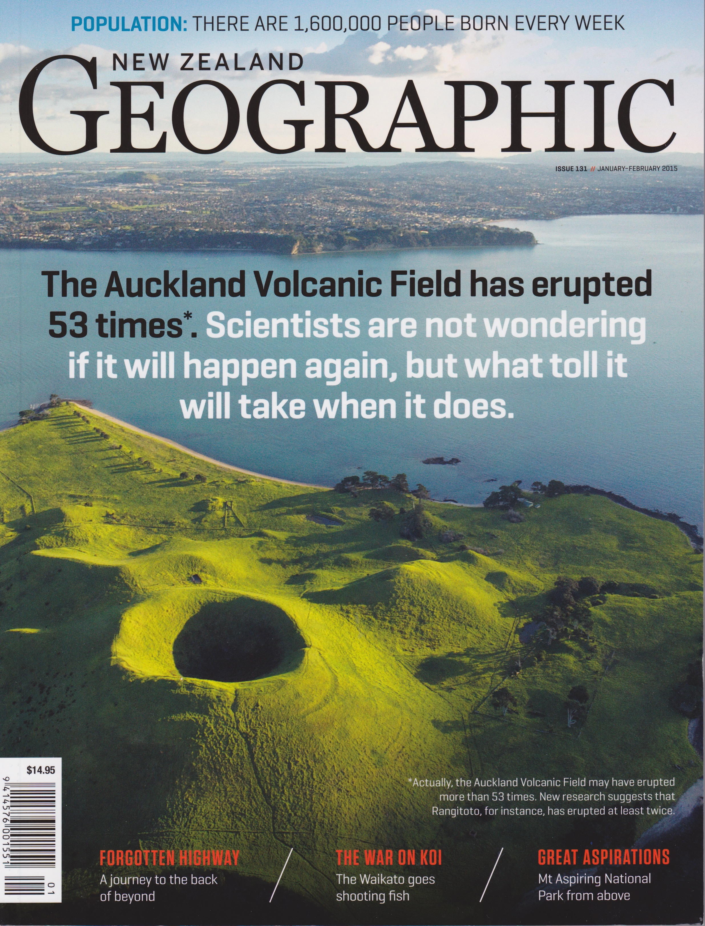 New Zealand Geographic Cover Scribblesnz Photos