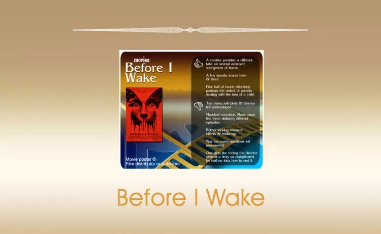 Movie Review: Before I Wake