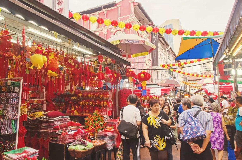 Chinatown Chinese New Year Bazaar 2017