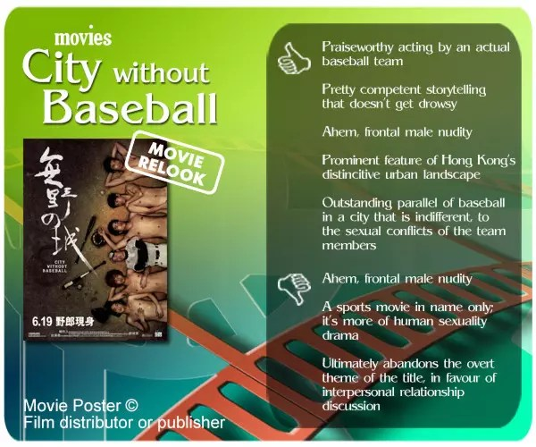City Without Baseball (无野之城) review. 5 thumbs up and 3 thumbs down.