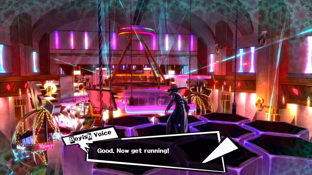 Persona 5 screenshot.