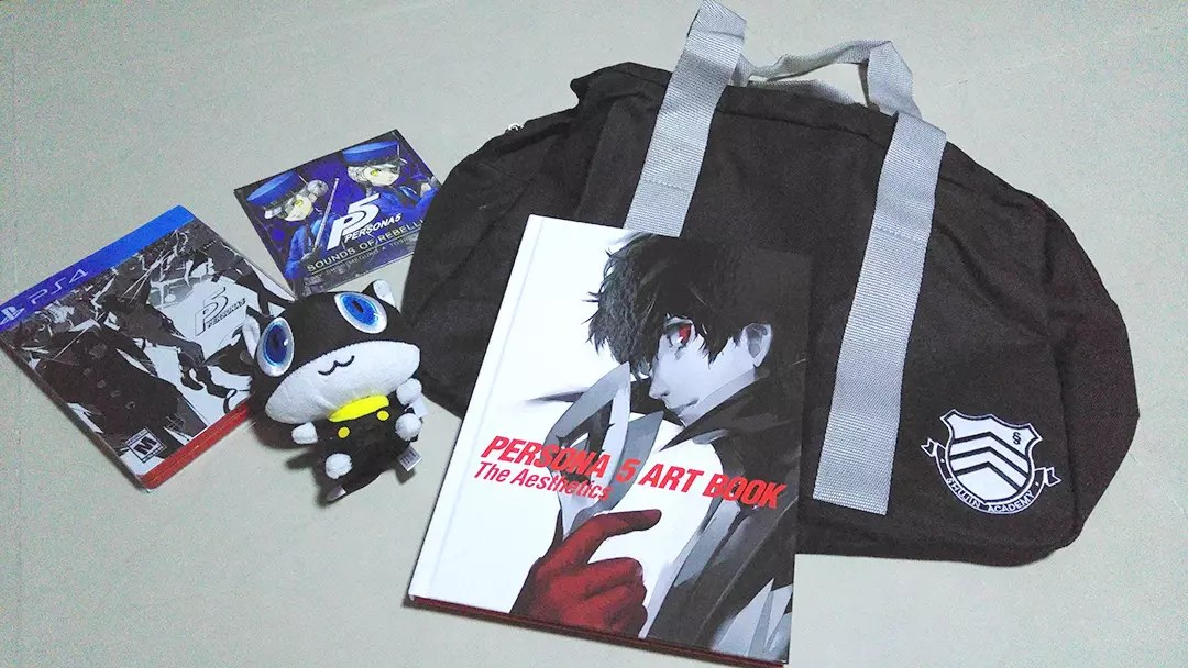 Persona 5 Take Your Heart Premium Edition Contents