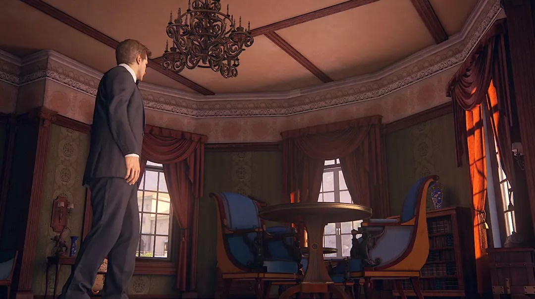 Uncharted 4: A Thief's End™: Rossi Estate interior.
