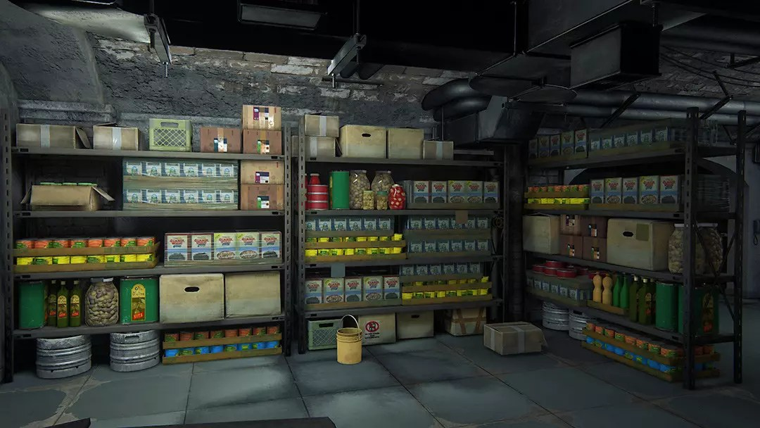 Uncharted 4: A Thief's End™: Rossi Estate Food Storeroom