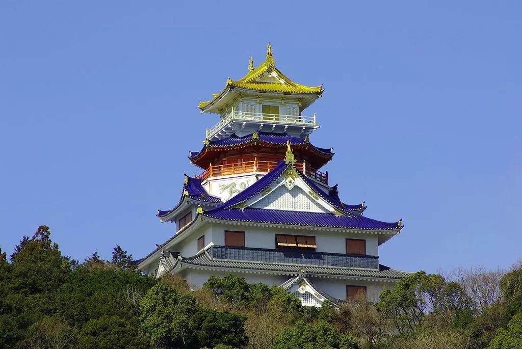Reconstruction of Azuchi Castle.