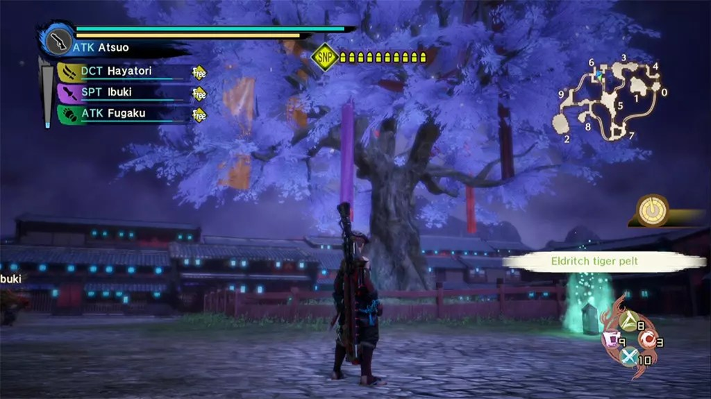 Toukiden Kiwami - The Age of Peace screenshot.