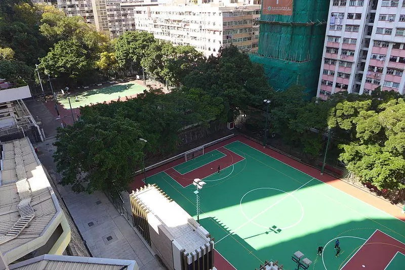 Public recreational facilities in Kennedy Town.
