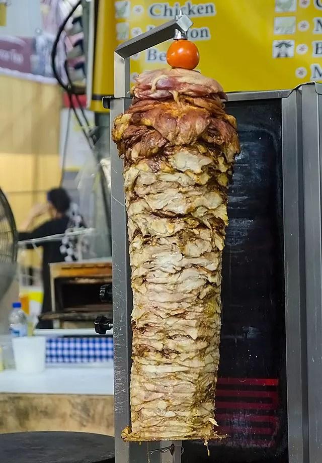 Pulled meat at Geylang Serai Food Bazaar 2017