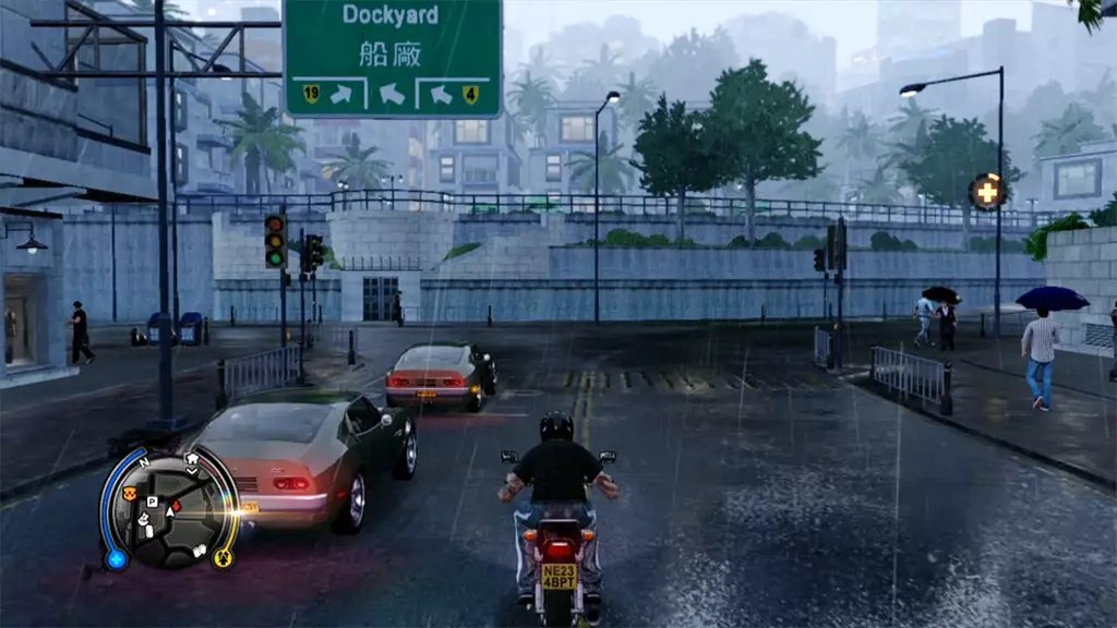 Rain in Kennedy Town.
