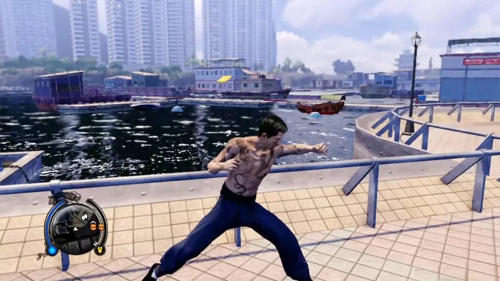 Wei Shen punching.