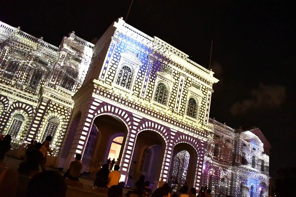 National Museum of Singapore, Singapore Night Festival 2017