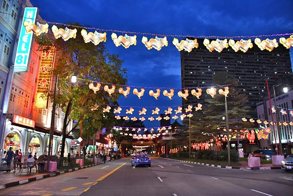 New Bridge Road Mid-Autumn Festival Decorations 2017