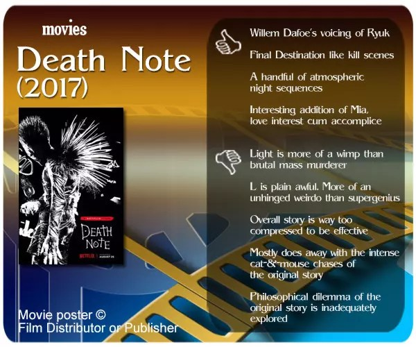 Death Note (2017) review.