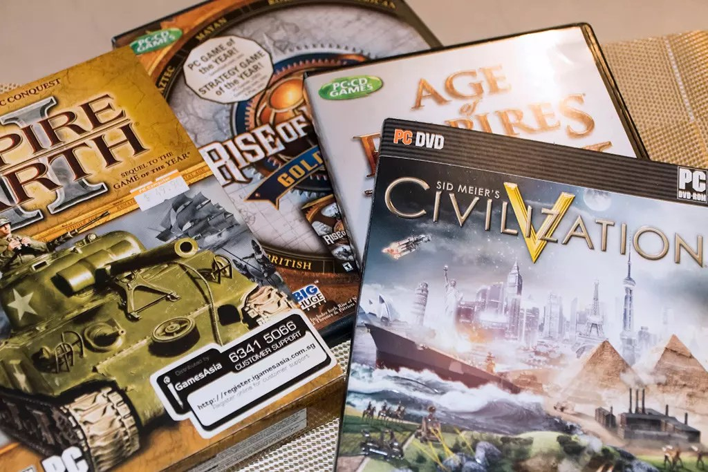 My favourite RTS and turn based strategy games.