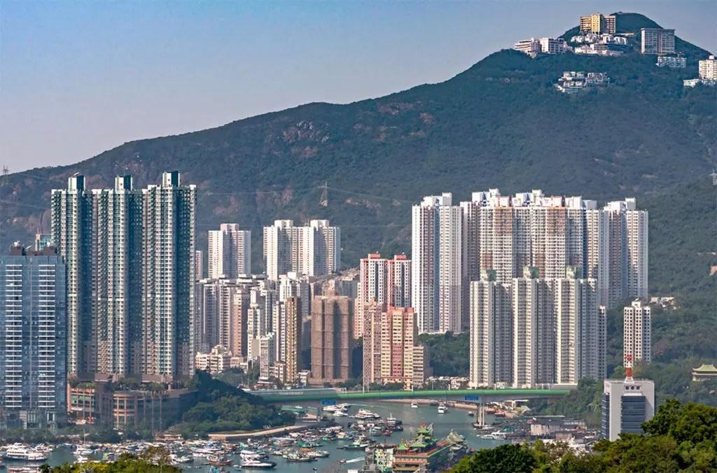 Aberdeen Hong Kong, Day View.