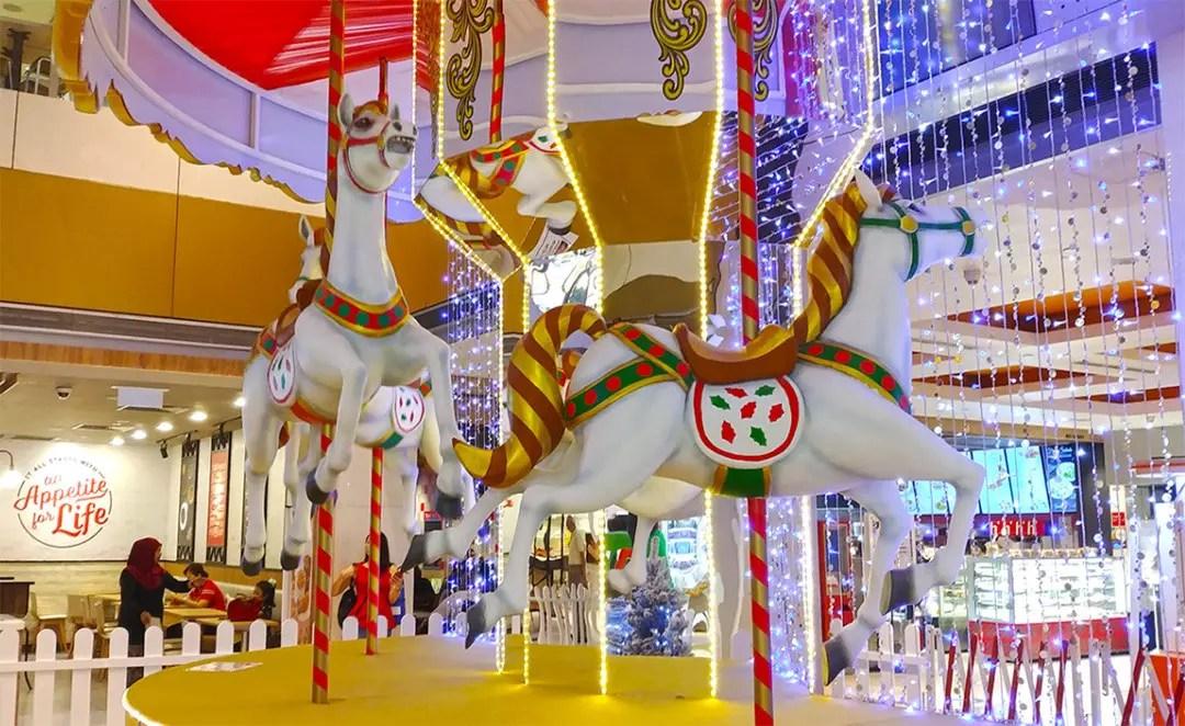 Christmas Light-Up in Singapore - Velocity @ Novena Square