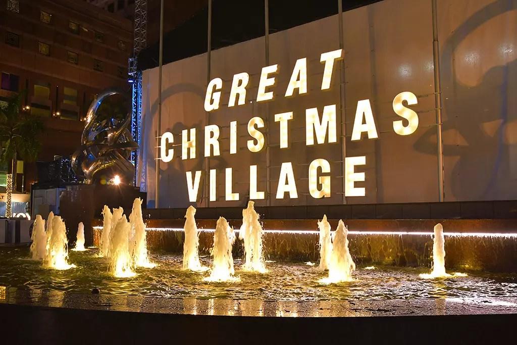 Great Christmas Village, Singapore.