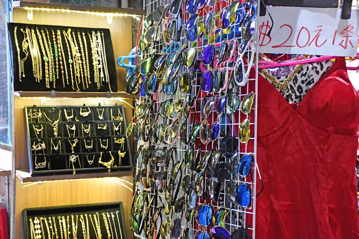 Accessories on sale at North Point Marble Road.