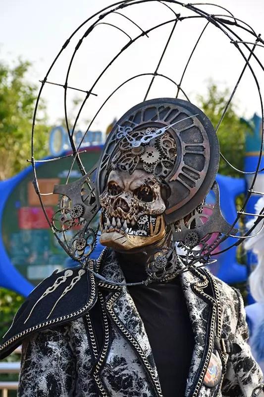 Halloween character at Ocean Park Halloween Fest 2017.