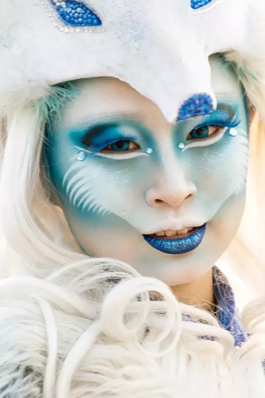 Halloween Character at Ocean Park Hong Kong.