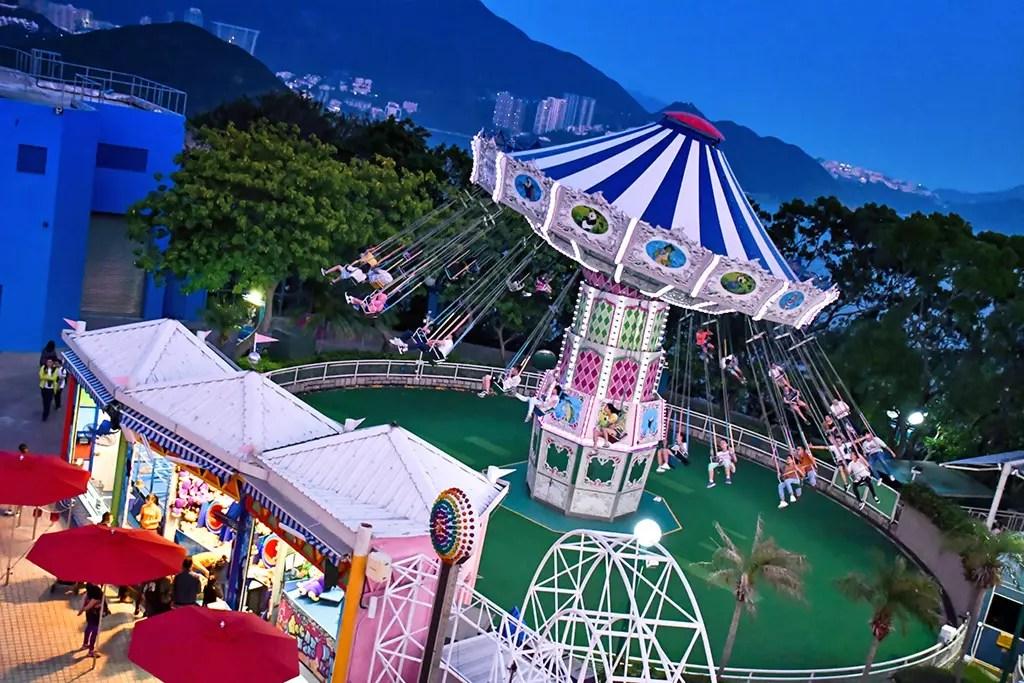 Ocean Park Hong Kong - Flying Swing.