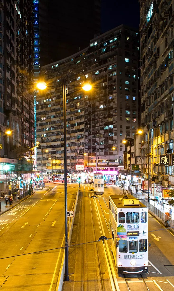 King's Road in North Point. A key inspiration for the open-world of Sleeping Dogs?