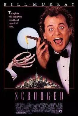 Scrooged Movie Poster