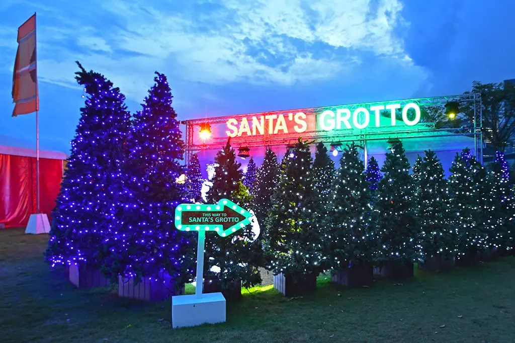 Gardens by the Bay Christmas Wonderland 2017 - Santa's Grotto