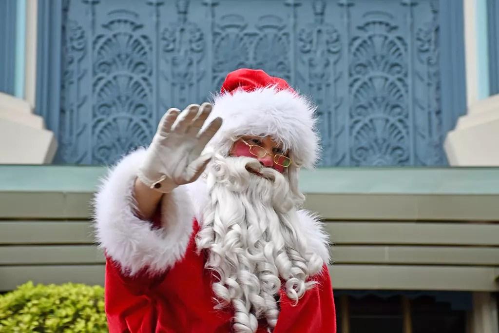 Universal Studios Singapore Christmas 2017 - Santa Claus