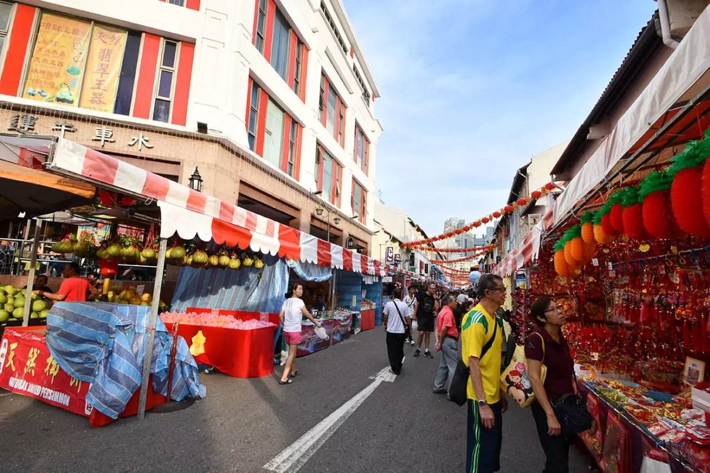 Chinatown Chinese New Year Festive Street Bazaar 2018.