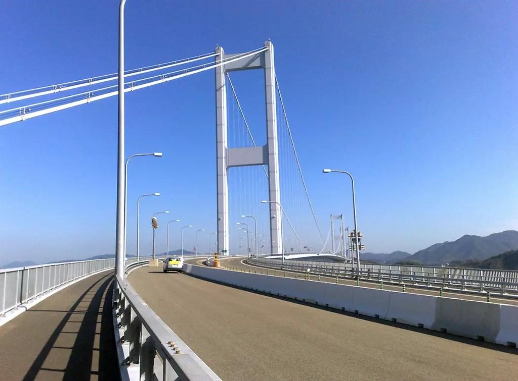 Shimanami Kaido: Kurushima-Kaikyō Bridge
