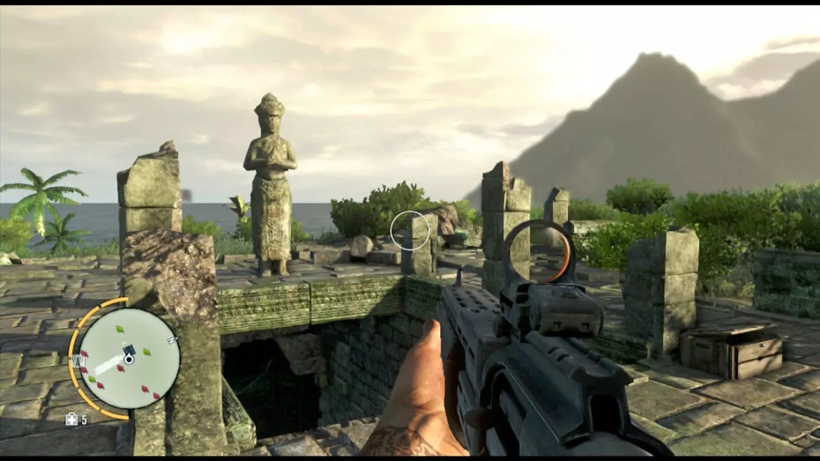 Far Cry 3 Hilltop Temple of Stone.