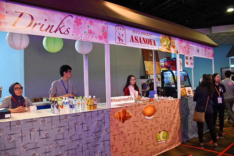 Sakura Japan Fair 2018 Food Stalls
