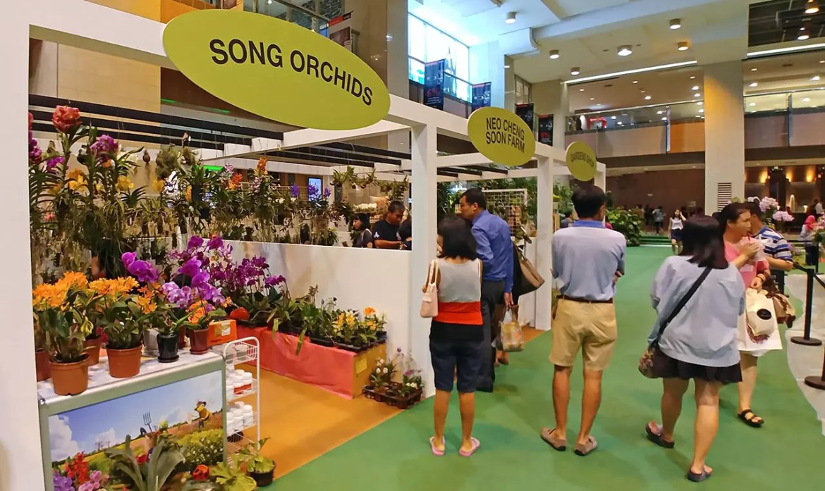 Launch of Singapore Garden Festival 2018 - Exhibition booths