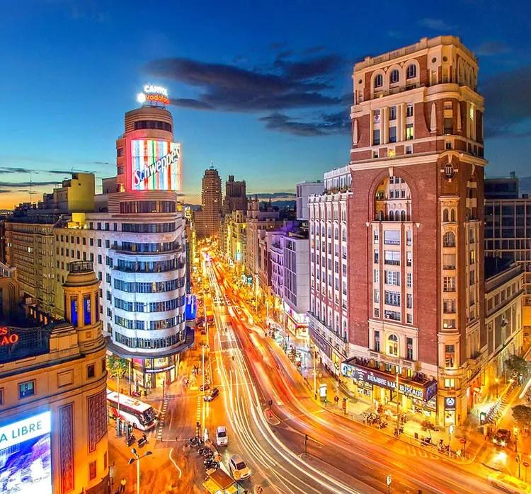 Plaza Del Callao, Madrid.