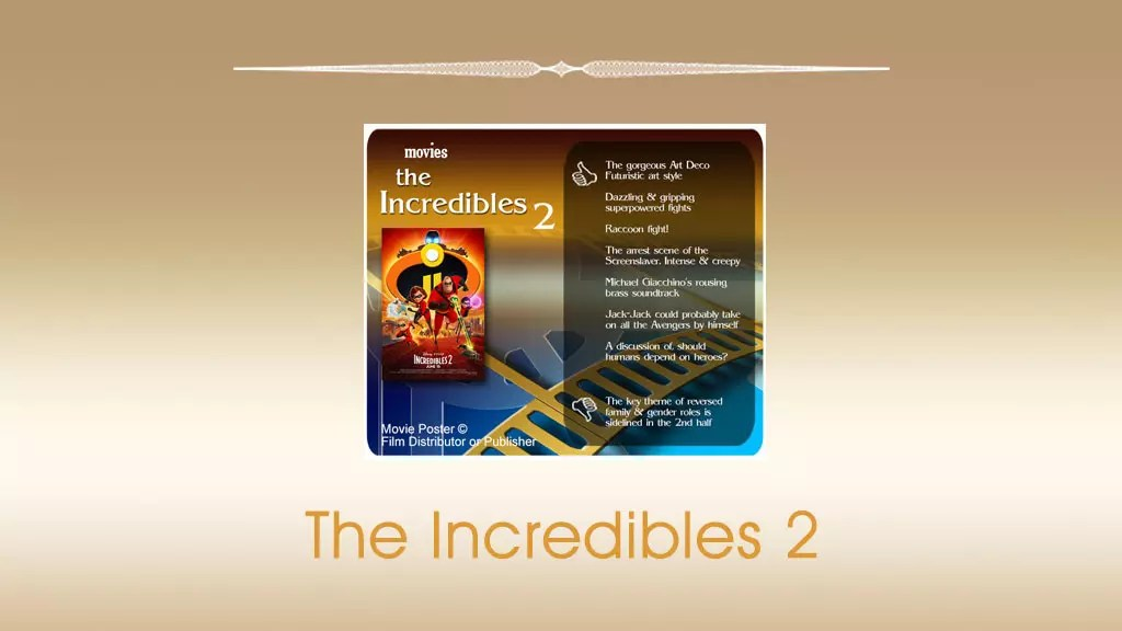 The Incredibles 2 Movie Review | The Scribbling Geek