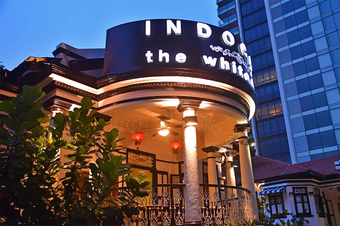 Indocafé - The White House at Scotts Road.