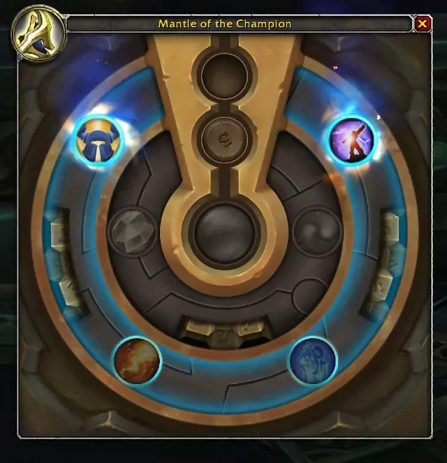 Azerite Traits and the Heart of Azeroth.