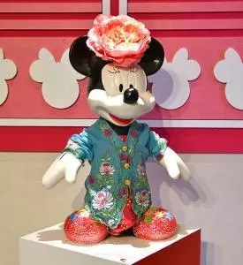 Minnie Mouse at Mickey Go Local Campaign 2018, Singapore.