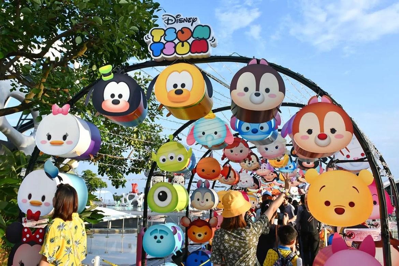Disney Tsum Tsum characters at Vivocity, Singapore