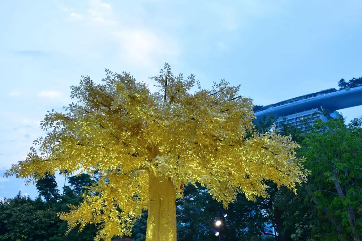 Mid-Autumn @ Gardens by the Bay 2018 - Golden Wishing Tree