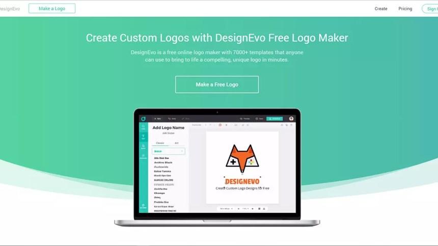 Designevo Free Logo Maker Review The Scribbling Geek