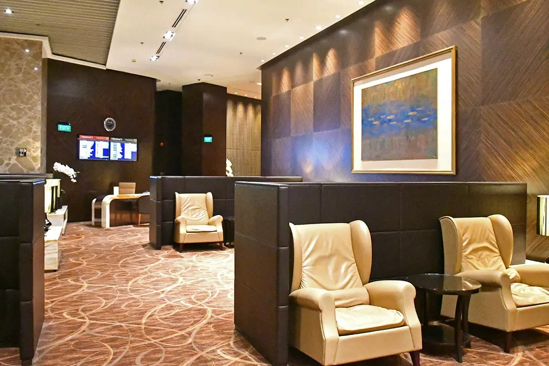 Singapore Airlines Private Room at Singapore Changi Airport