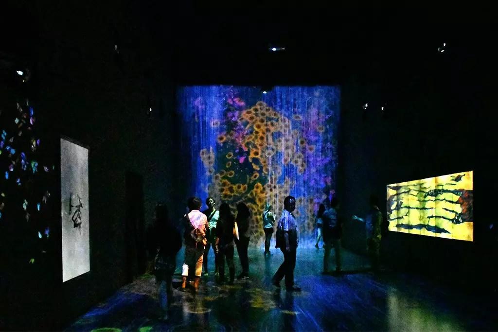 teamlab at ArtScience Museum, Singapore.