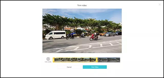 FlexClip Free Online Video Maker | Video Trimming Screen