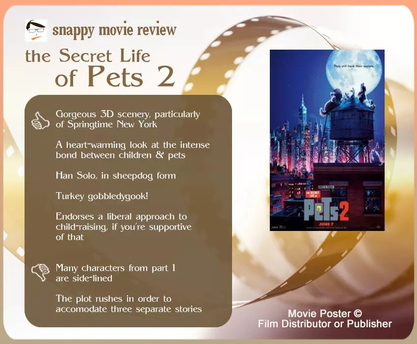 The Secret Life of Pets 2 Review: 5 thumbs-up and 2 thumbs-down