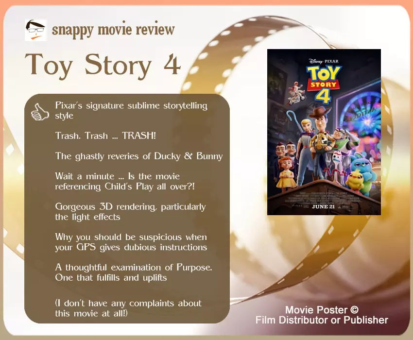 Toy Story 4 Movie Review: 7 thumbs-up & no thumbs-down