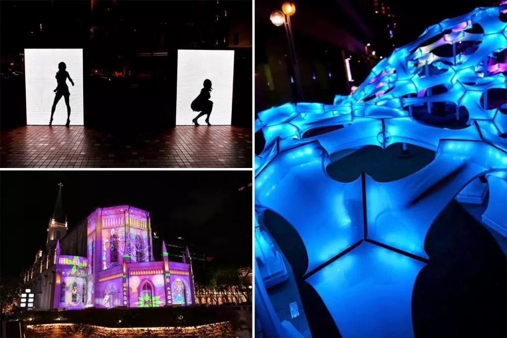 Singapore Night Festival 2019 Night Lights.