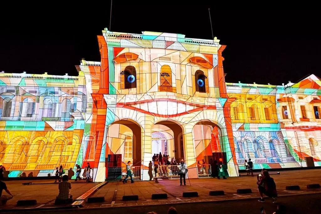 National Museum of Singapore   Singapore Night Festival 2019