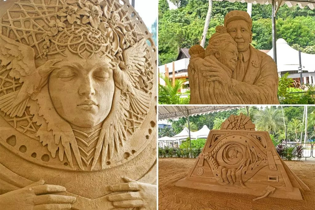 Sentosa International Sand Sculpturing Competition.